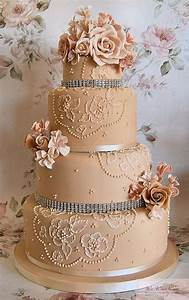 Baroque Wedding - Special Wedding Cake Design #805207
