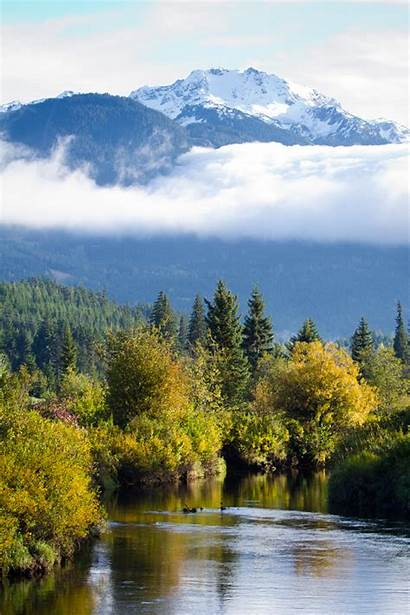 Scenic North Columbia British Canada Nn Golf