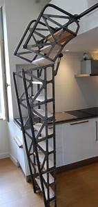 Escalier Escamotable Grenier : les 25 meilleures id es de la cat gorie escalier ~ Melissatoandfro.com Idées de Décoration