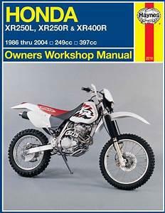 Honda Xr250l  Xr250r  U0026 Xr400r 1986