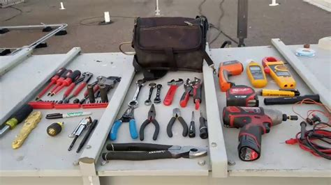 hvac tool bag setup youtube