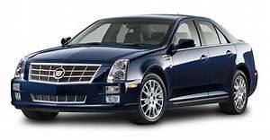 Cadillac STS Blue Car PNG Image - PngPix