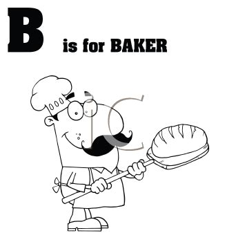 royalty  baker clipart