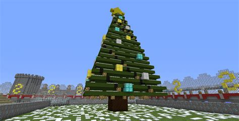 christmas tree minecraft project