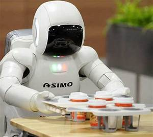 The 'humanoid' robots that work in pairs to serve the ...