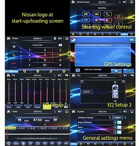 7 U0026quot  Dvd Gps Car Player Stereo Sat Nav For Nissan Juke