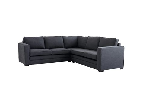 Fabric Leather Corner Sofa