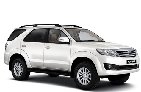 Toyota Fortuner Unequipped 4x4 Rental In South