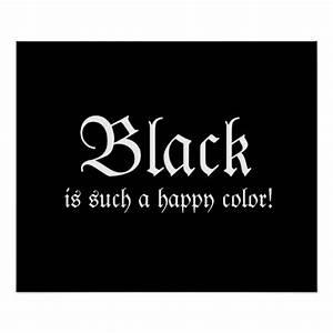 Black Happy Color Morticia Addams Poster | Zazzle