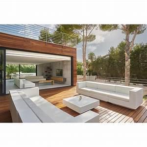 Salon Exterieur Design : salon ext rieur contemporain ~ Teatrodelosmanantiales.com Idées de Décoration
