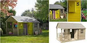 Maison Enfant Castorama : maisonnette cabane bois in s avec toit et terrasse ~ Premium-room.com Idées de Décoration
