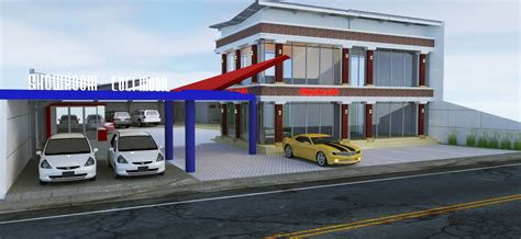 car wash design  semarang  anton sujatmiko