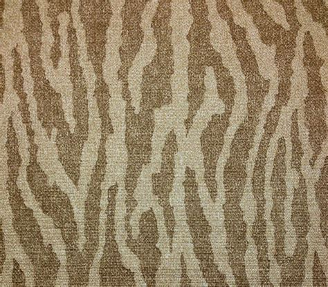 Animal Print Upholstery Fabric By The Yard by Ballard Design Nomad Zebra Animal Print Beige Upholstery