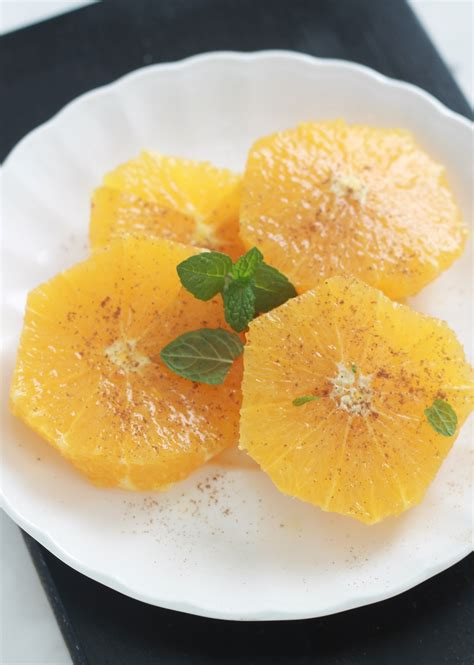 salade d oranges parfum 233 e 224 l eau de fleur d oranger et cannelle cuisine culinaire