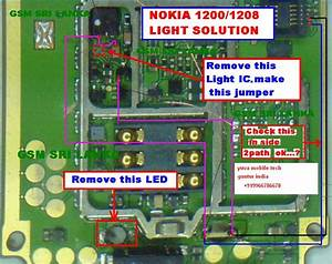Light Problem In Nokia 1616 Can Be Solve With This Diagram