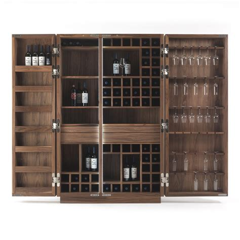 wine storage in kitchen cabinets riva 1920 cambusa wine cabinet walnut heal s 1915