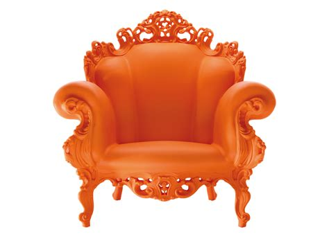 chaise italienne magis proust armchair orange by magis