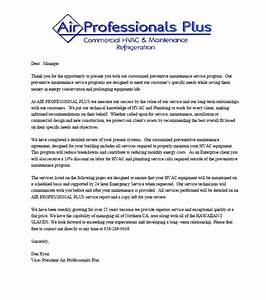Air professionals plus for Air conditioning company introduction letter