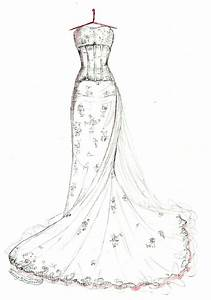 wedding gown memories wrinkle in time photo blog With wedding dress drawing