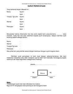 Contoh Surat Wasiat Untuk Anak Suratmenyuratnet