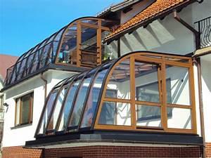 Wintergarten Mit Balkon : balkon aus glas ~ Sanjose-hotels-ca.com Haus und Dekorationen