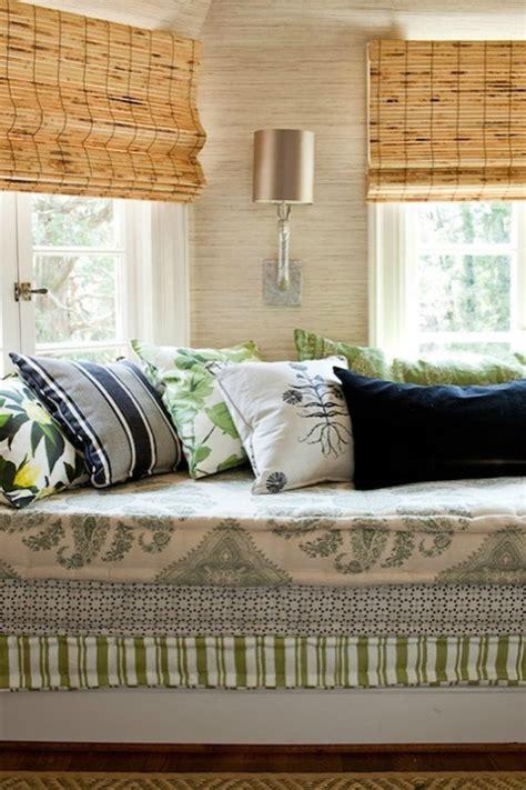 french mattress style cushion   window seat