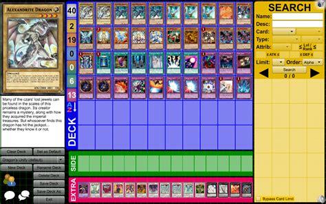 dragon s unify yugioh deck by arthur933 on deviantart