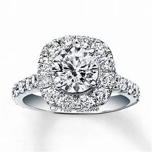 kay neil lane engagement ring 2 3 4 ct tw diamonds 14k With 2 1 4 ct tw diamond wedding ring