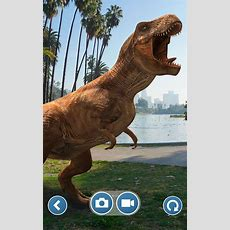 Jurassic World Alive Looks Like Pokémon Go But With Giant Dinosaurs  The Verge