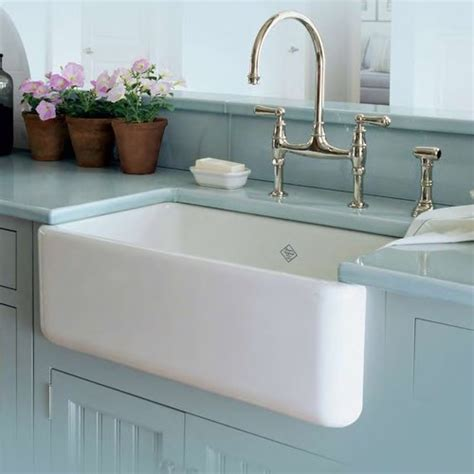 Rohl Fireclay Sink Cleaning by Apron Sinks Not Just For A Farmhouse Kitchen