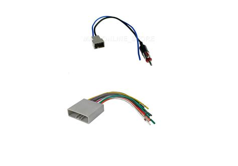 Stereo Wiring Harness Antenna Combo For Honda