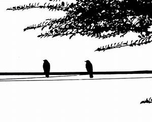 Two Birds on a Wire by Solveig1900 on DeviantArt
