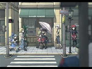 Anime Street Wallpaper 38696