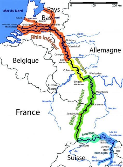 Carte Fleuve Rhin by Panneau Quot La G 233 Ographie Du Rhin Quot Salle Quot Introduction