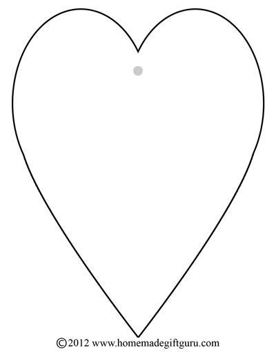 Kostenlose ausmalbilder und malvorlagen zum drucken ffürr kinder. Free Gift Tags - Heart Templates