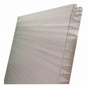 Plaque Alvéolaire Pour Toiture : polycarbonate emboitable claire 40mm longueur 1 8m ~ Edinachiropracticcenter.com Idées de Décoration