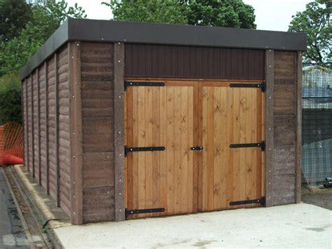 concrete garages concrete sheds  concrete workshops uk