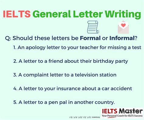 Ielts General Writing Task 1