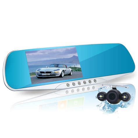 Webcam Mirror by Relaxgo 4 3inch Car Camera Mirror Full Hd 1080p Car