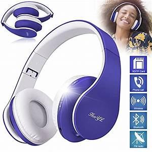 Bluetooth Kopfhörer In Ear Test 2018 : hooyl kabelloser faltbarer on ear bluetooth kopfh rer mit ~ Jslefanu.com Haus und Dekorationen