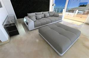 U Sofa Xxl : xxl big sectional sofa bed miami with led lights rgb ~ A.2002-acura-tl-radio.info Haus und Dekorationen