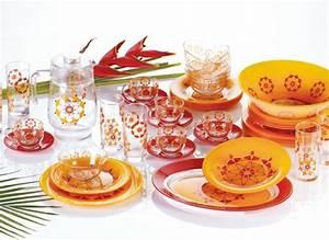 Vaisselle En Verre : la vaisselle luminarc visions classiques et couleurs r vitalisantes ~ Teatrodelosmanantiales.com Idées de Décoration