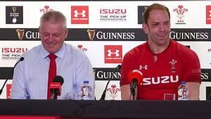 Press Conference: Warren Gatland and Alun Wyn Jones after ...