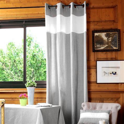 rideau 233 et dentel 233 gris homemaison vente en ligne tous les rideaux