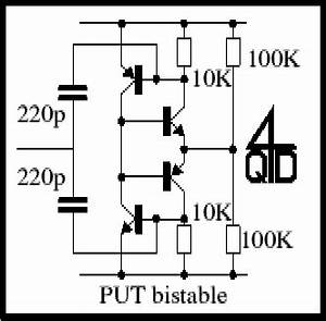 With programmable unijunction transistor flasher