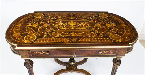 tables bureau antique marquetry bureau plat writing table c 1860