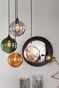 Bunte Pendelleuchte aus handgeblasenem Glas Deko: Lampen Liebe Pinterest Bunt, Glas und