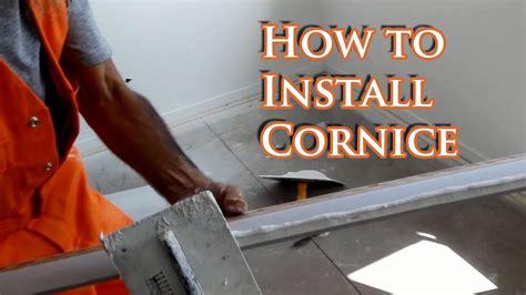 install cornice youtube