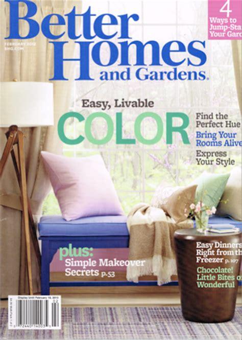 better homes and gardens magazine february 2013 eat