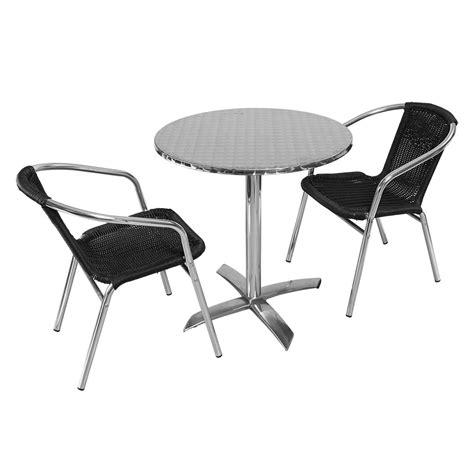 chaise et table de restaurant mobilier exterieur restaurant pas cher